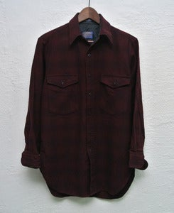 Image of Pendleton wool overshirt (S) #5