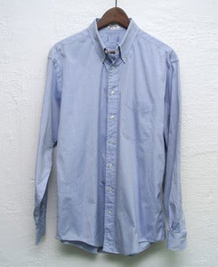 Image of Vintage pinpoint oxford shirt (Xl)