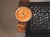 Image of Big Face Rose Gold Watch