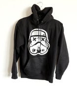 Image of SLOTH Trooper black pullover hoodie