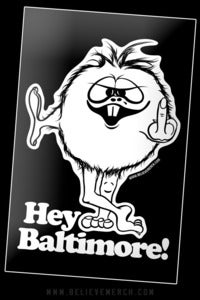 Image of Hey Baltimore! sticker