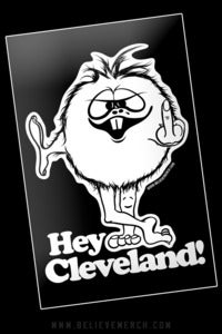 Image of Hey Cleveland! sticker