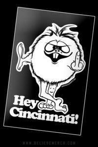 Image of Hey Cincinnati! sticker