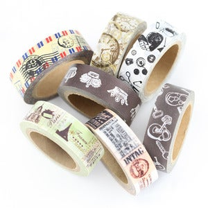 Image of Vintage Style Washi Tape