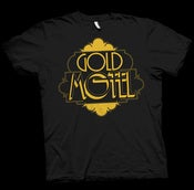 Image of GOLD MOTEL LOGO T-SHIRT (BLACK)