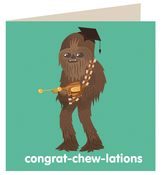 Image of Congrat-chew-lations Card