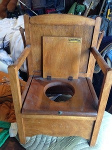 Image of Antique Potty