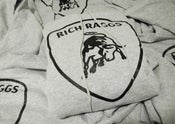 "Image of Light Steel/Black Rich Raggs ""Mercy"" Pullover Hoodie"