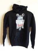 Image of SLOTH x R2 Black Pullover Hoodie