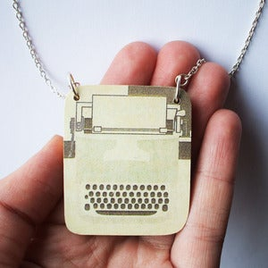 Image of Typewriter Necklace