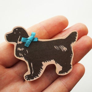 Image of Florence The Spaniel Brooch