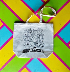 Image of 35 Denton Throwback Hot Wet Mess 2012 canvas tote