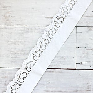 Image of French Lace Doily Strip