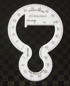 Image of Direct Dimension Rim-Tire Measuring Tool