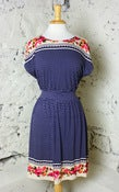 Image of Yumi Stripes & Flowers Day Dress