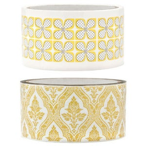 Image of Yellow Flower Packing Tape
