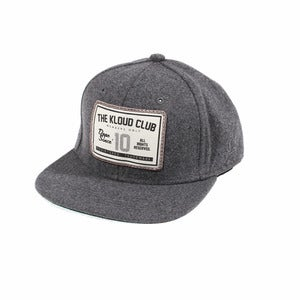 Kloud Club Snapback Grey
