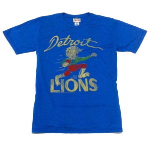 Image of Detroit Lions Retro 50s Mascot