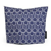 Image of Tea cosy, Big drop blue