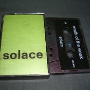 "Image of WRATH OF THE WEAK ""Solace"" Cassette"