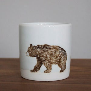 Image of Small White Bear Tumbler