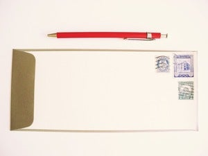 Image of Vintage Postage Stationery Set