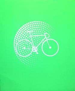 Image of OF Green Bax: Screen Print