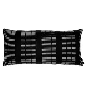 Image of Rectangular cushion, Dash black