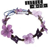 Image of Purple Rain Crown as seen on Perrie Little Mix!
