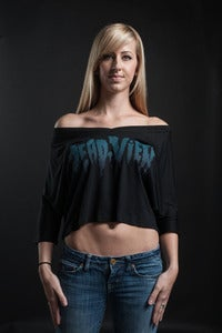 Image of Logo Crop V-Neck