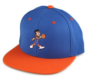 Image of AIR 33 SNAPBACK HAT | royal/orange