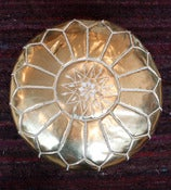Image of Gold Pouf