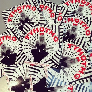 Image of 'Old School Gaga' Club Sticker