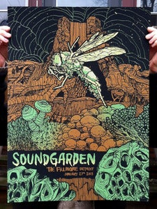 Image of Soundgarden - Screenprinted Poster