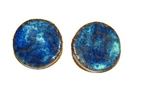Image of Ocean Stud Earrings (Large)