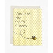 Image of You are the bees knees card