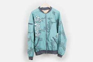 Image of Reebok Printed Zip Jacket