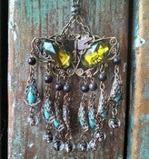 Image of Bohemian Butterfly Goddess Necklace