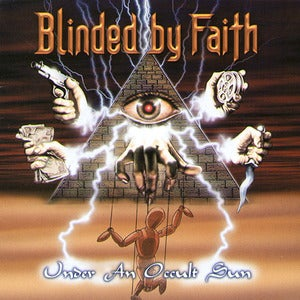 Image of BLINDED BY FAITH - Under An Occult Sun CD & Veiled Hideousness CD rare OOP first print + bonus CD