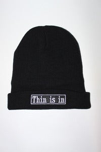 Image of Thin is in Beanie