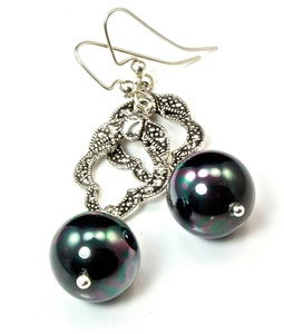 Image of Styles of the Modern Era - Victorian Pearl Earrings