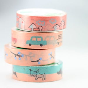 Image of Around the Neighborhood Washi Tape