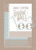 Image of 2012 Snow Ball Poster