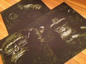 "Image of ""Intelligent Apes"" Complete set"