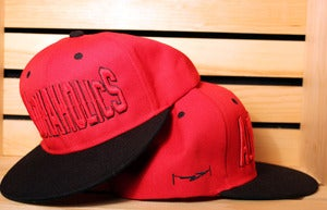 Image of Block Snapback (Red/Black)
