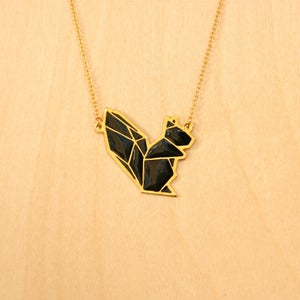 Image of Origami necklaces: Squirrel