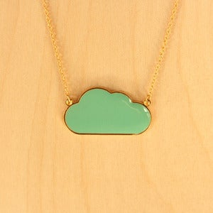 Image of Origami necklaces: Cloud