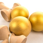 Image of Kendama USA Customs - The Native - Gold Rush