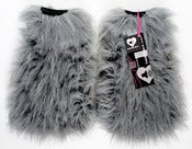 Image of Glitter fluffies gray