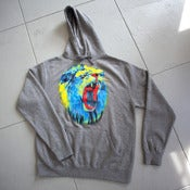 Image of Limited &quot;Acid Scream&quot; Men&amp;#x27;s Hoodie - Heather Grey